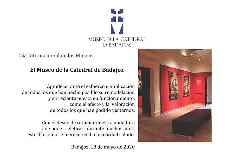 Día internacional de los Museos (18 de mayo de 2020)