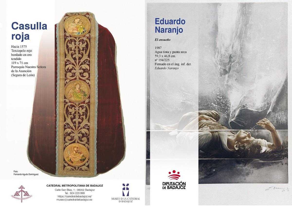 Pieza Museo Catedral Badajoz Agosto 2020
