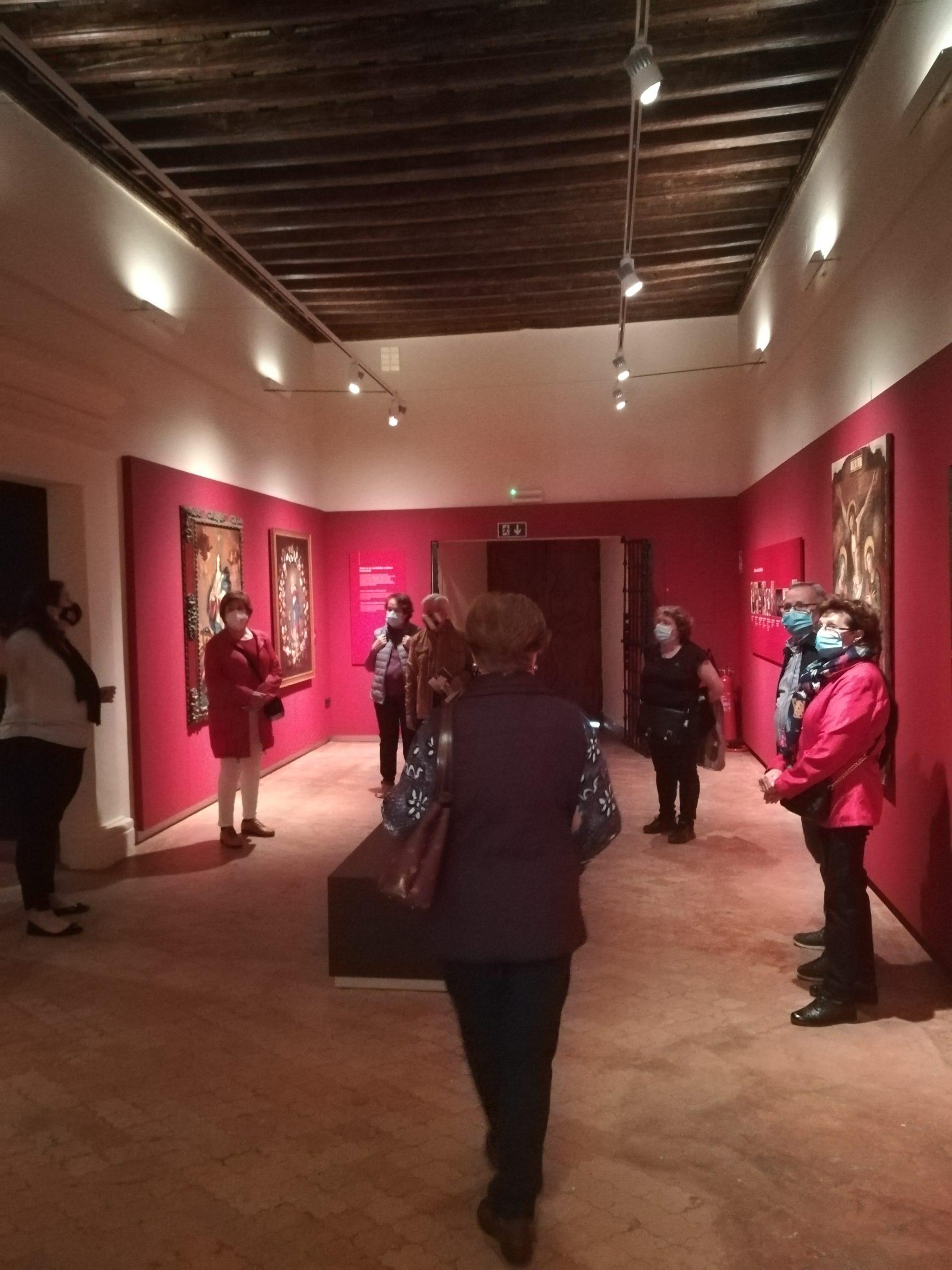 Los mayores en el Museo de la Catedral de Badajoz